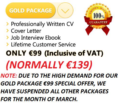 Professional cv writing service cork
