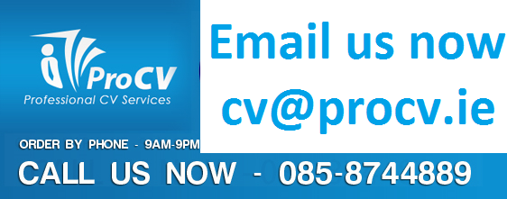 085-8744889 – Ireland's Leading Professional CV Service