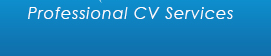 Professional CV Writing Courses and Services